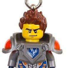 Juegos construcción - Lego: LEGO 853521 LLAVERO FIGURA DE CLAY (NEXO KNIGHTS). NUEVO!!.. Lote 277299273