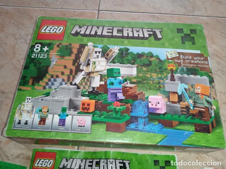 Juegos construcción - Lego: THE IRON GOLEM 21123 LEGO MINECRAFT LEGO SET - Foto 2 - 277420868