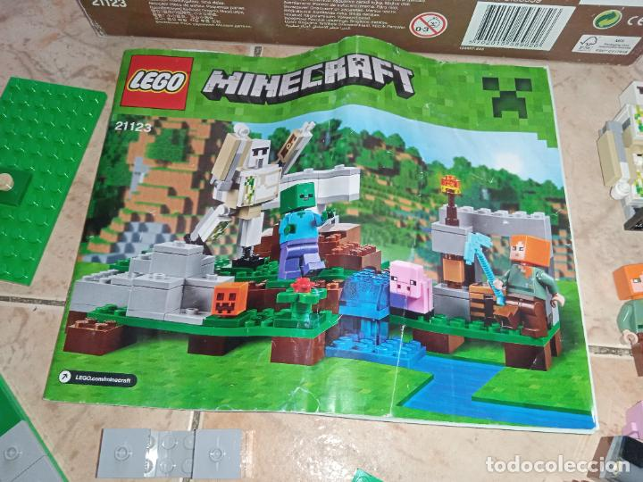 Juegos construcción - Lego: THE IRON GOLEM 21123 LEGO MINECRAFT LEGO SET - Foto 3 - 277420868