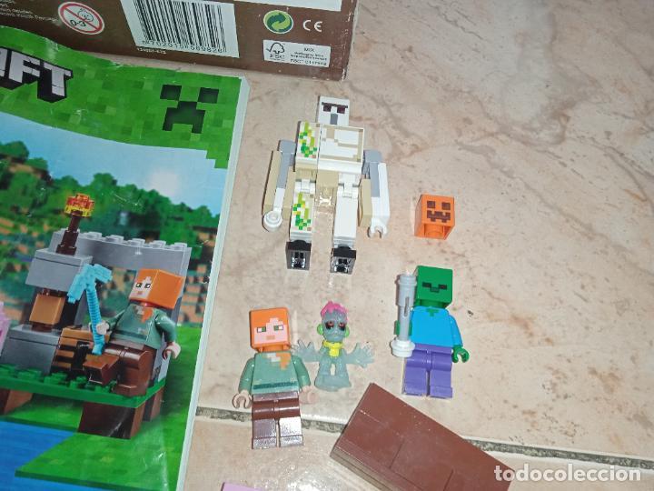 Juegos construcción - Lego: THE IRON GOLEM 21123 LEGO MINECRAFT LEGO SET - Foto 4 - 277420868
