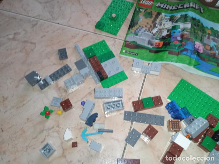 Juegos construcción - Lego: THE IRON GOLEM 21123 LEGO MINECRAFT LEGO SET - Foto 6 - 277420868