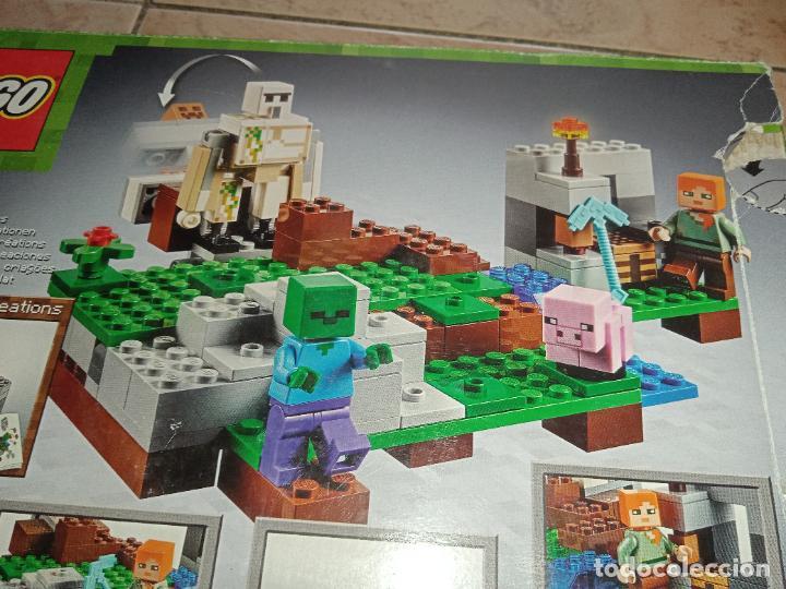 Juegos construcción - Lego: THE IRON GOLEM 21123 LEGO MINECRAFT LEGO SET - Foto 7 - 277420868
