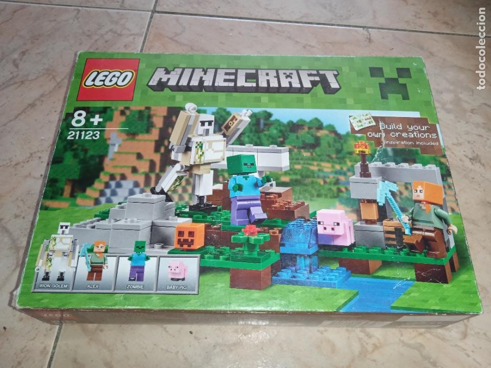 Juegos construcción - Lego: THE IRON GOLEM 21123 LEGO MINECRAFT LEGO SET - Foto 8 - 277420868