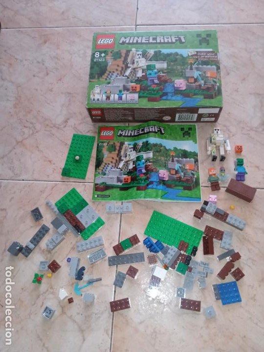 THE IRON GOLEM 21123 LEGO MINECRAFT LEGO SET (Juguetes - Construcción - Lego)