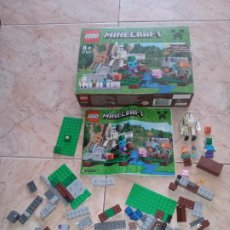 Juegos construcción - Lego: THE IRON GOLEM 21123 LEGO MINECRAFT LEGO SET. Lote 277420868