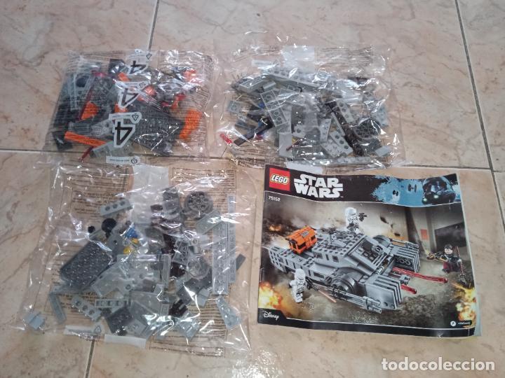 LOTE 3 BOLSAS LEGO 75152 STAR WARS IMPERIAL ASSAULT HOVERTANK E INSTRUCCIONES (Juguetes - Construcción - Lego)