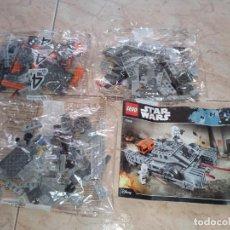 Juegos construcción - Lego: LOTE 3 BOLSAS LEGO 75152 STAR WARS IMPERIAL ASSAULT HOVERTANK E INSTRUCCIONES. Lote 277422103