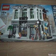 Juegos construcción - Lego: LEGO 10251 NUEVO, BANCO MODULAR. Lote 277451643
