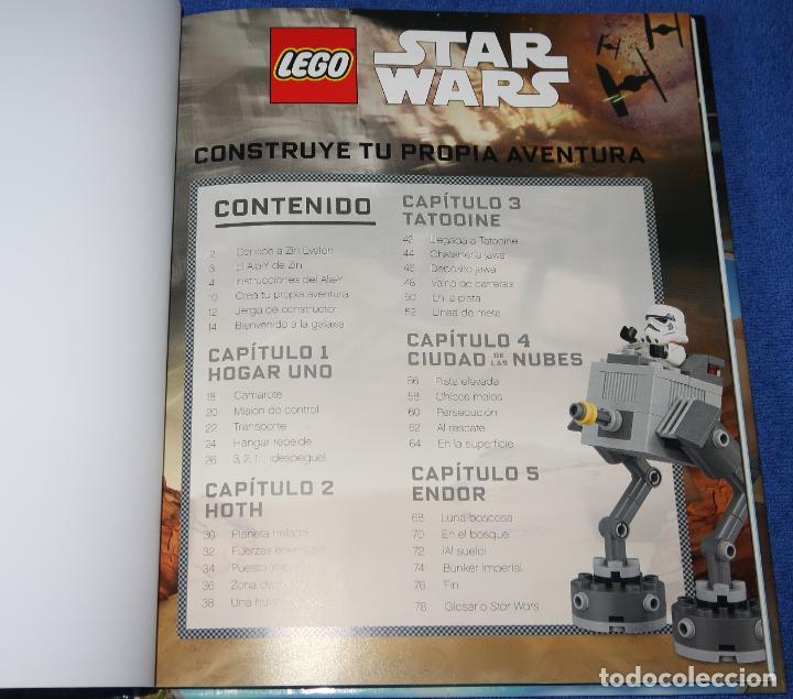 Juegos construcción - Lego: Construye tu propia aventura - Lego - Star Wars - Disney (2017) - Foto 3 - 277668043