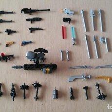 Juegos construcción - Lego: LEGO LOTE ARMAS.. Lote 277697073