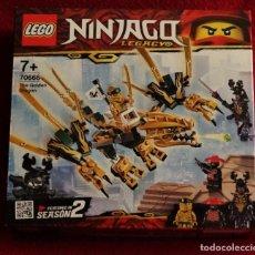 Juegos construcción - Lego: LEGO NINJAGO LEGACY 70666 TOTALMENTE NUEVO Y PRECINTADO. Lote 277704193