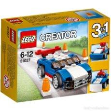 Juegos construcción - Lego: LEGO 31027 COCHE DEPORTIVO AZUL (SERIE LEGO CREATOR). NUEVO EN CAJA!!. DESCATALOGADO.. Lote 278386848