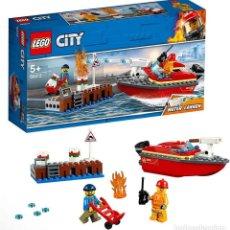 Juegos construcción - Lego: LEGO 60213 LLAMAS EN EL MUELLE (SERIE CITY). NUEVO EN CAJA!!.. Lote 278430328