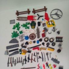 Juegos construcción - Lego: LEGO GRAN LOTE PIEZAS ARMA ESPADA PISTOLA ESCOPETA ESPADA CAÑON COPA RUEDA FUEGO GORRO SOMBRERO REMO. Lote 278511723