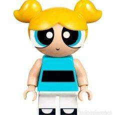 Juegos construcción - Lego: LEGO MINIFIGURA DE BUBBLES / BURBUJA (LAS SUPERNENAS). FIGURA SUELTA, YA MONTADA. NUEVA.. Lote 278640363