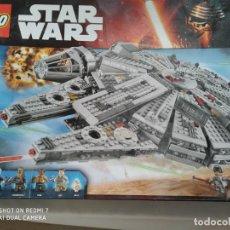 Juegos construcción - Lego: LEGO STAR WARS 75105, MILLENNIUM FALCON, INCOMPLETO LEER DESCRIPCIÓN. Lote 278925273
