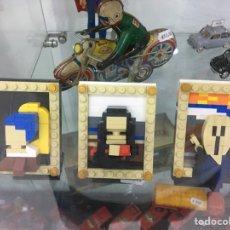 Juegos construcción - Lego: LOTE DE CUADROS CLÁSICOS TIPO LEGO. Lote 278970348