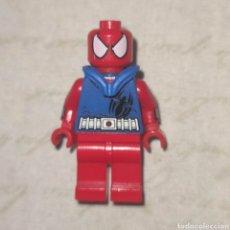 Jogos construção - Lego: MINI FIGURA SCARLET SPIDER SPIDER-MAN ORIGINAL SET 76057 EXCLUSIVA MUY DIFÍCIL SUPERHÉROES MARVEL. Lote 282321433