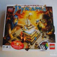Juegos construcción - Lego: LEGO RAMSES PYRAMID REF 3843 SOLO INSTRUCCIONES Y CAJA. Lote 283040148