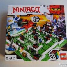 Juegos construcción - Lego: LEGO NINJAGO REF 3856 SOLO INSTRUCCIONES Y CAJA. Lote 283040358