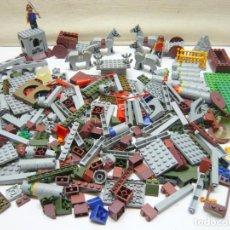 Juegos construcción - Lego: GRAN LOTE PIEZAS CONSTRUCCION TIPO LEGO TENTE ETC - TORNEOS MEDIEVALES. Lote 284528623