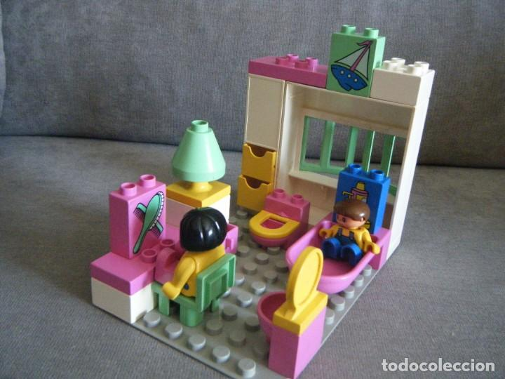CUARTO DE BAÑO DE LEGO DUPLO . AÑOS 90 (Juguetes - Construcción - Lego)