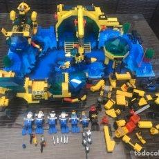 Juegos construcción - Lego: LEGO BASE SYSTEN AQUAZONEAQUANAUTS NEPTUNE DISCOVERY LABORATORY Y CRISTAL EXPLORER SUB DSR II 6175. Lote 287136828
