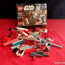 Juegos construcción - Lego: LEGO STAR WARS .NO SABEMOS SE ESTA COMPLETO. TAL CUAL COMO SE VE EN FOTOS. Lote 287228068