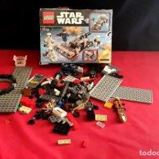 Juegos construcción - Lego: LEGO STAR WARS .NO SABEMOS SI ESTA COMPLETO TAL CUAL COMO SE VE EN FOTOS. Lote 287230208
