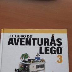 Juegos construcción - Lego: 11-00736 - ISBN- 978-84-415-3783-5-EL LIBRO DE AVENTURAS LEGO (TAPA DURA). Lote 287739868