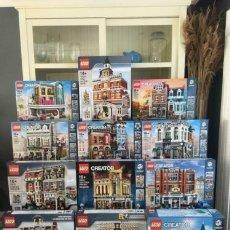 Juegos construcción - Lego: LEGO MAGNIFICO LOTE DE LEGO MODULAR/CREATOR EXPERT NUEVOS. Lote 288401673