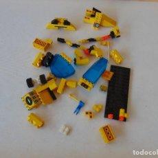 Juegos construcción - Lego: LOTE DE PIEZAS DE LEGO ROBOT NAVE , MUCHAS ,COLOR AMARILLO. Lote 288440273