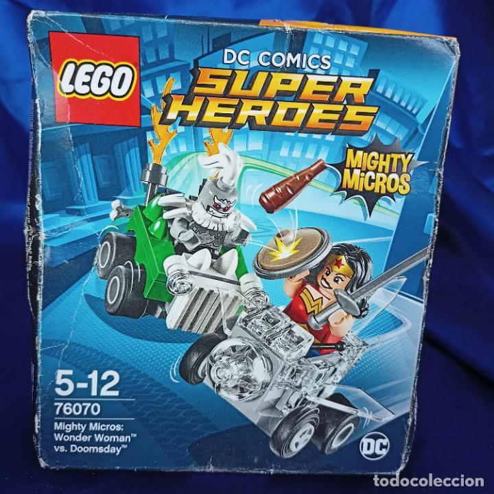 Juegos construcción - Lego: Lego 76070 Wonder Woman Vs. Doomsday (DC Comics Mighty Micros). NUEVO, - Foto 2 - 288662363