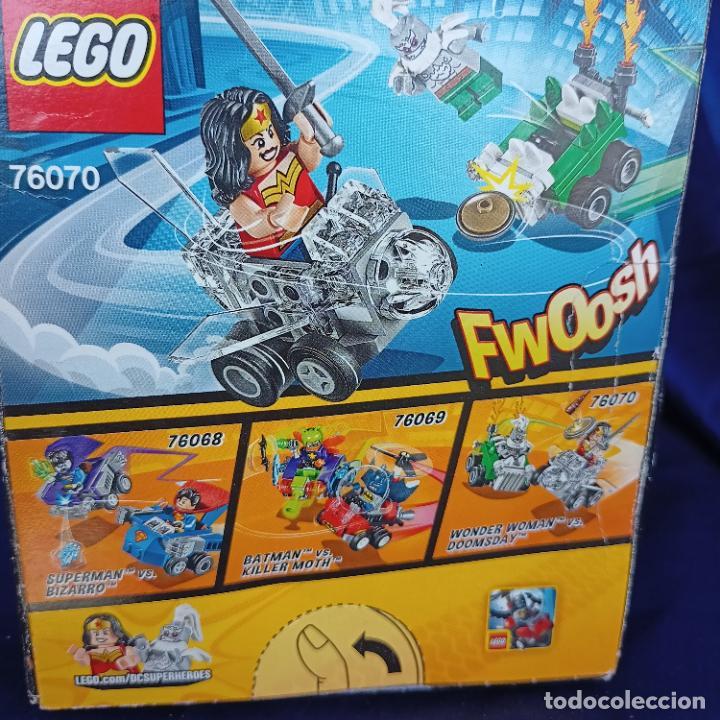 Juegos construcción - Lego: Lego 76070 Wonder Woman Vs. Doomsday (DC Comics Mighty Micros). NUEVO, - Foto 4 - 288662363