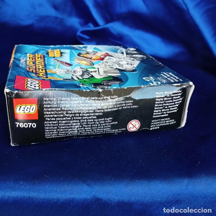Juegos construcción - Lego: Lego 76070 Wonder Woman Vs. Doomsday (DC Comics Mighty Micros). NUEVO, - Foto 5 - 288662363