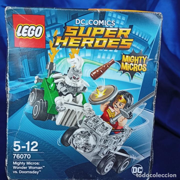 LEGO 76070 WONDER WOMAN VS. DOOMSDAY (DC COMICS MIGHTY MICROS). NUEVO, (Juguetes - Construcción - Lego)