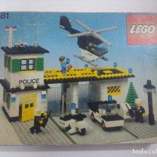 Giochi costruzione - Lego: LEGO SYSTEM ORIGINAL/COMISARIA DE POLICIA REF:381 LEGOLAND AÑOS 70.. Lote 289546153