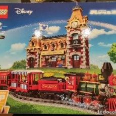 Juegos construcción - Lego: TREN Y ESTACIÓN DISNEY 71044 -LEGO DISNEY- NUEVO, PRECINTADO. Lote 290003818