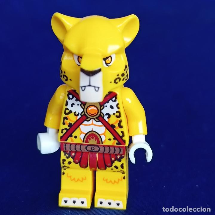 LEGO ® - MINIFIGURA LEGENDS OF CHIMA FIGURA LUNDOR-FIRE CHI AND ARMOR- (Juguetes - Construcción - Lego)