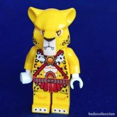Juegos construcción - Lego: LEGO ® - MINIFIGURA LEGENDS OF CHIMA FIGURA LUNDOR-FIRE CHI AND ARMOR-. Lote 290107298