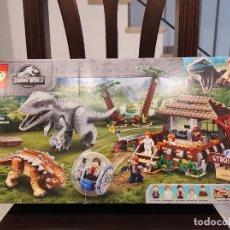 Juegos construcción - Lego: INDOMINUS REX VS ANKYLOSAURUS 76941 -LEGO JURASSIC WORLD- NUEVO, PRECINTADO. Lote 290506573