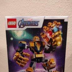 Juegos construcción - Lego: ARMADURA ROBÓTICA DE THANOS 76141 -LEGO MARVEL- NUEVO, PRECINTADO. Lote 290508998