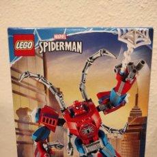 Juegos construcción - Lego: ARMADURA ROBÓTICA DE SPIDER-MAN 76146 -LEGO MARVEL- NUEVO, PRECINTADO. Lote 290509223