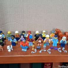 Juegos construcción - Lego: LOTE FIGURITAS LEGO Y ACCESORIOS. Lote 293912203