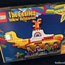 Juegos construcción - Lego: LEGO THE BEATLES. YELLOW SUBMARINE. REF. 21306. EN CAJA SIN ABRIR. IMPECABLE. DESCATALOGADO. Lote 295636533