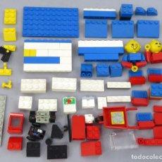 Juegos construcción - Lego: LOTE PIEZAS LEGO CON DOS MUÑECOS VER FOTOS. Lote 295696308