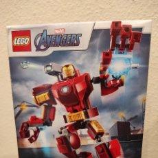 Juegos construcción - Lego: ARMADURA ROBÓTICA DE IRON MAN 76140 -LEGO MARVEL- NUEVO, PRECINTADO. Lote 296622718