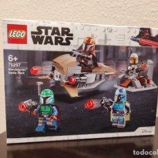 Juegos construcción - Lego: PACK DE COMBATE MANDALORIANOS 75267 -LEGO STAR WARS- NUEVO, PRECINTADO. Lote 296623328