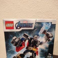Juegos construcción - Lego: ARMADURA ROBÓTICA DE THOR 76169 -LEGO MARVEL- NUEVO, PRECINTADO. Lote 296623463