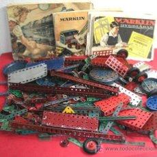 Juegos construcción - Meccano: LOTE MECCANO- MARKLIN. Lote 12508856